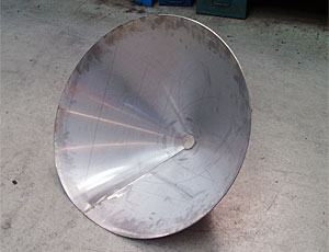 Cone Roll Forming And Pre Bending Brilla Metal Works Cone